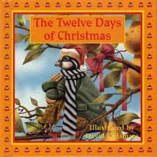 the twelve days of 8x8 illustrated books