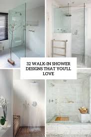 walk in shower ideas for bathrooms walk in shower ideas 32 designs that you will