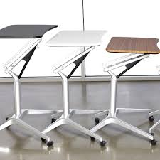 Workfit D Sit Stand Desk by Sit Stand Workpad Table Seated