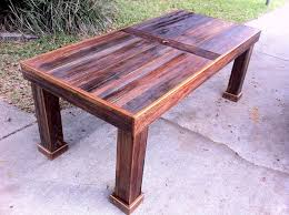 reclaimed cypress patio table by stephenschaad lumberjocks com