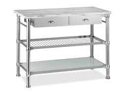 home styles the orleans kitchen island modular kitchen island with marble top williams sonoma
