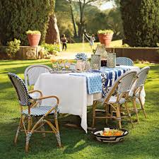 Blue Bistro Chairs Splendid French Bistro Chairs Decorating Ideas