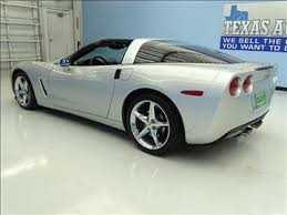 corvette houston tx chevrolet corvette c6 in houston tx for sale used cars on