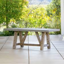 concrete top outdoor table bordeaux concrete top table outdoor furniture terra patio