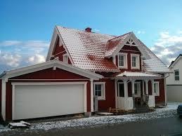 wohnflã chenberechnung balkon einfamilienhaus holzhaus schweden stil satteldach mit gaube