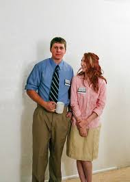 15 the office halloween costume jim pam fun run brandon1 costume