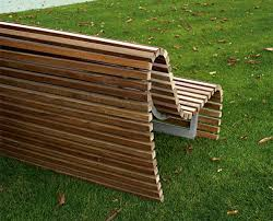 outdoor bench seating modern outdoor wood bench by b b italia