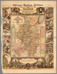 Vintage Chicago Map by Vintage Infodesign 110 Visualoop