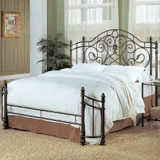 top queen metal headboard on queen bed iron queen size bed frame