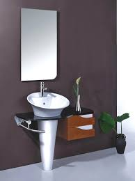 Pedestal Bathroom Vanities Lovely Paint Bathroom Cabinets Small Stainless Asin With Pedestal