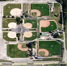 Baseball Map 3 U00262 East Complex Fields 1 9 The 3 U00262 Baseball Club Of Johnson