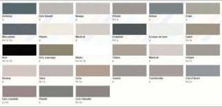 nuancier peinture chambre nuancier peinture grise 28 teintes pour toute la maison