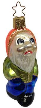 grumpy ornament by inge glas