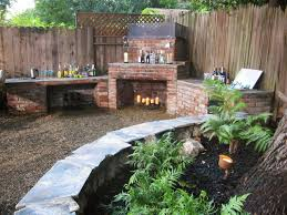 diy outdoor fireplace and grill 28 images backyards modern