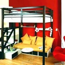 lit mezzanine avec canape lit superpose banquette lit mezzanine avec banquette futon