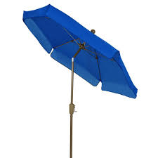 Patio Umbrella Solar Lights by Fiberbuilt Umbrellas 7 5 Ft Patio Umbrella In Yellow 7gcrcb T Yl