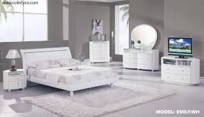 Modern Furniture Store Nj by Bedroom Design Vero Modern White Tufted Bedroom Set White Modern