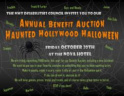 annual benefit auction haunted hollywood halloween edge