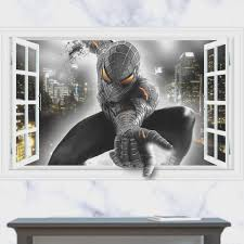 bedroom amazing spiderman wallpaper for bedroom small home