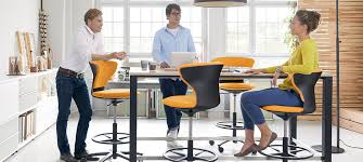 Inscape Office Furniture by Aluminum Task Chair On Casters With Footrest Turnaround