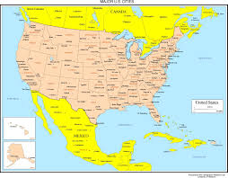 Albany New York Map by Mexico Maps Inside Map Us And Mexico Thefoodtourist