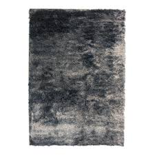 Home Area Rugs Home Decorators Collection So Silky Salt And Pepper Polyester 5 Ft