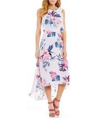 jessica howard floralprint pleated maxi dress dillards for now