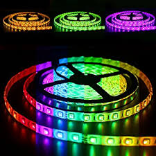 multicolor led light strips shop multi colored with remote 5050