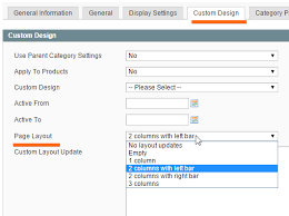 layout xml file magento enterprise magento category custom design page layout not changing
