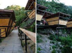 The Origami Inspired Folding Bamboo House Inhabitat Sustainable Design Innovation Eco - jungle hotel in mexico v houses an amazing jungle retreat near