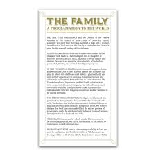 family proclamation family proclamation bookmark in bookmarks ldsbookstore ldp
