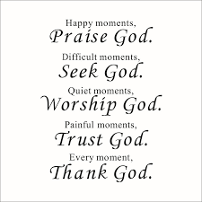 aliexpress buy bible verse every moment thank god wall quote