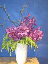 orchid flower arrangement minneapolis flower delivery purple