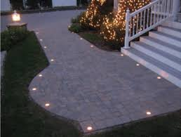 Patio Paver Lights Lighting For Your Driveway Or Patio Paver Lighting Around The