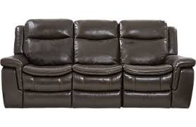 Grey Leather Reclining Sofa by Living Room Sofas U0026 Couches Reclining Power Futon Etc
