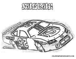 nascar racing car coloring pages book for boys vast 546031