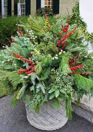 Christmas Outdoor Decorations Ideas Pinterest by Best 25 Outdoor Christmas Planters Ideas On Pinterest Christmas