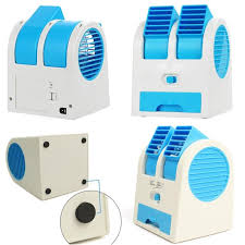 usb powered car fan mini fan and portable dual bladeless small air conditioner water air c