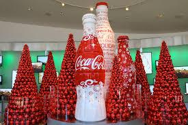 a winter wonderland holiday festivities at world coca cola