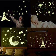 Glow In The Dark Home Decor Glow In The Dark Moon Ebay
