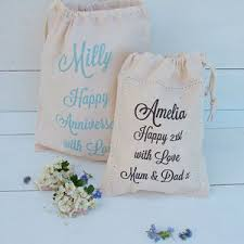 cotton gifts personalised cotton gifts