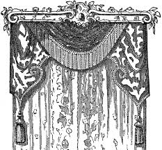 Lace Curtains Lace Curtains Stock Image The Graphics Fairy