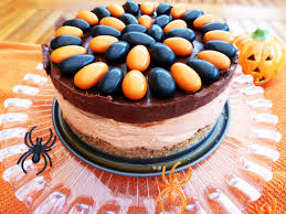 Halloween Chocolate Cakes by Inspired No Bake White Chocolate Cheesecake With A Dark Chocolate