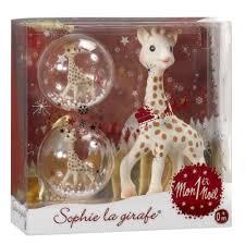 the giraffe my teether ornament set