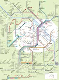 Germany Rail Map by Atlanta Transit Fantasy Map Marta Subway Light Rail Brt