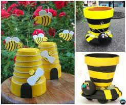 Garden Craft - diy clay pot garden craft projects picture instructions
