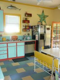 kitchen marmoleum click bright and loud colours inspired by