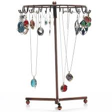 necklace holder stand images Rotating necklace holder bracelet stand jewelry organizer jewelry jpeg