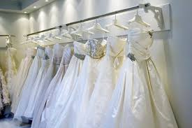 wedding dress consignment port credit bridal store sells class second gowns