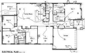 electrical plan electrical plan home building plans 40435